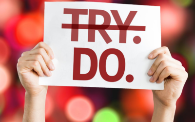 Stop trying, Start Reaching Goals